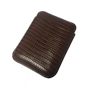 Martin Wess 503 Lizard Brown Cigarillo Case