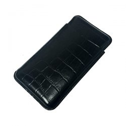Martin Wess 503-13 Crocodile Black Panatella Case