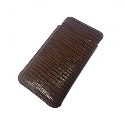 Martin Wess 503-13 Lizard Brown Panatella Case