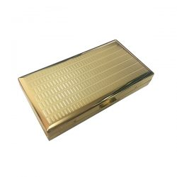 Pearl PE28101B Gold Cigarette Case