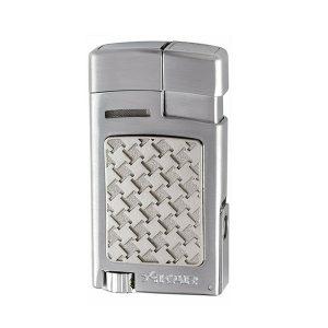 Xikar 524SLH Forte Silver Soft Flame