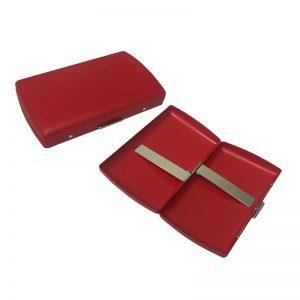 Pearl 21069-20 Red Matt Cigarette Case