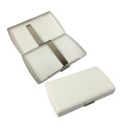 Pearl 21069-60 White Cigarette Case
