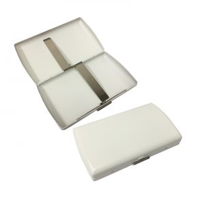 Pearl 21069-60 White Cigarette Case