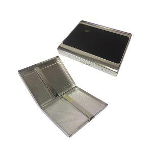 Pearl 28903-10 Silver / Black Cigarette case