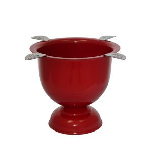 Stinky CA-ST-4 Red Ashtray