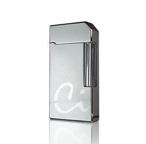 Caseti CA59-5 Windsor Chrome Diamond Cut Soft Flame Lighter