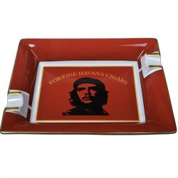 Elie Bleu 'Che' Red Ashtray