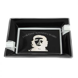 Elie Bleu 'Che' Black Ashtray