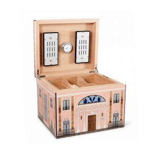 "Elie Bleu Pink Palace ""Casa Cubana Collection"" Humidor 110s - Limited Edition 48/99"