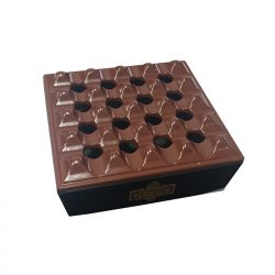 Coiba Habanos 4 Cigar Grid Ashtray