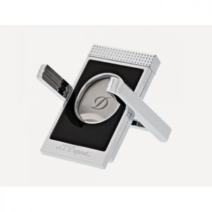 S.T. Dupont 3415 Cigar Cutter Stand Black / Chrome