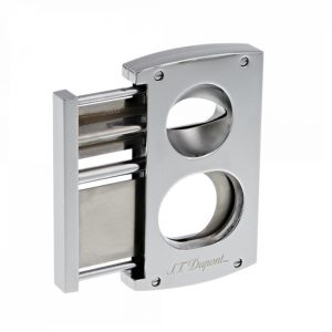 S.T. Dupont 3418 Chrome Double Cut Cutter