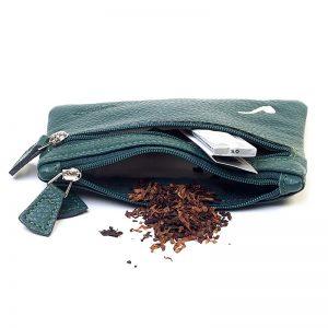 Savinelli T665 Cigarette Tobacco Pouch Green